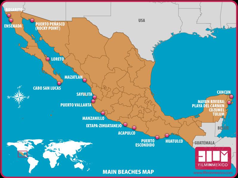 Beaches Film In Mexico